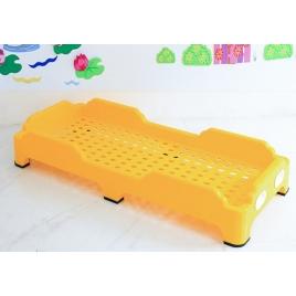 Cama plastica amarilla