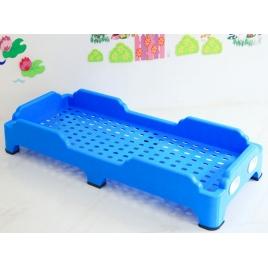 Cama Plastica Apilable Azul