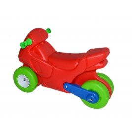 Moto Montable Roja
