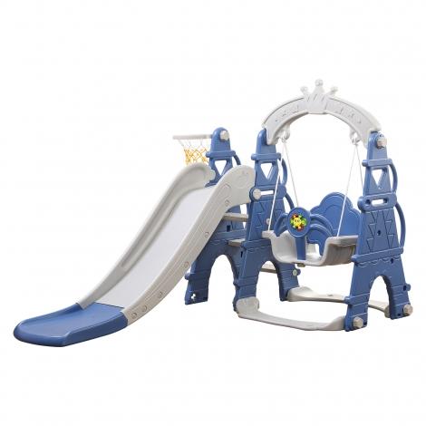Tobogan Columpio Imperial Azul