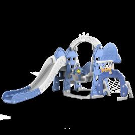 Tobogan Columpio Imperial Azul 6 en 1