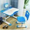 Escritorio y Silla Infantil Ajustable Azul