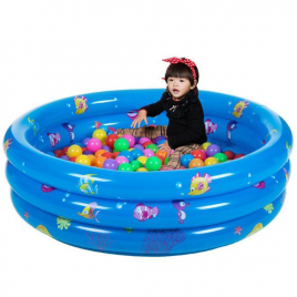 Piscina Inflable 1.3 m Azul