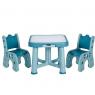 Set de Mesa y Sillas Azul