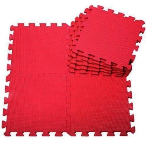 Piso en Foami 1.2 cm Rojo