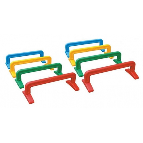 Carrera Obstaculos Rectangular 8 piezas