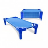 Cama Apilable Lona Metal